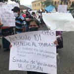 Protesta Cobán