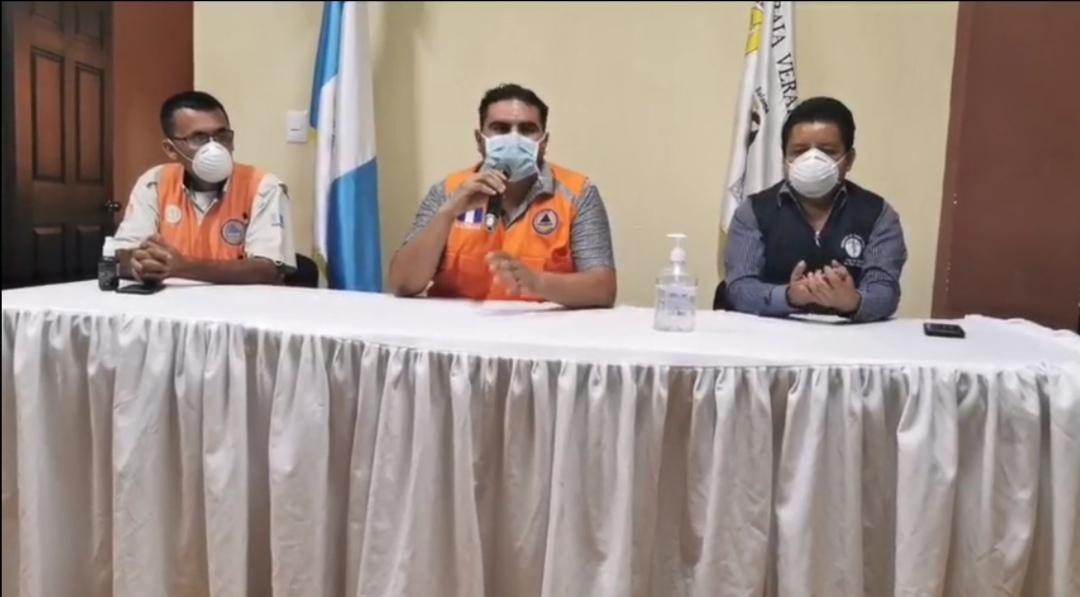 Las autoridades de salud de Baja Verapaz confirmaron los casos de COVID-19 en el municipio de San Miguel Chicaj. (Foto: Eduardo Sam)