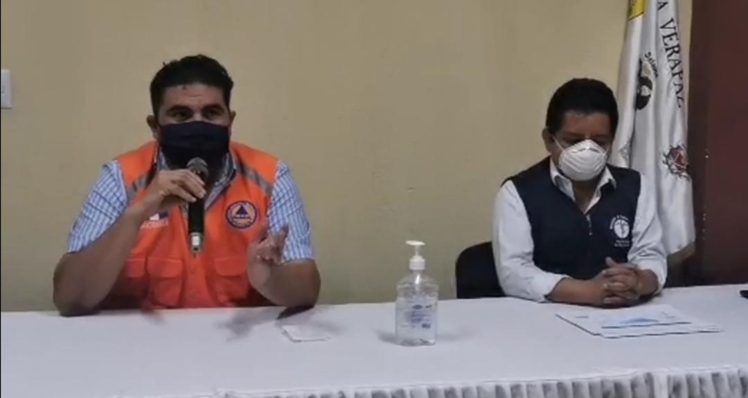 Las autoridades confirmaron que en San Miguel Chicaj, Baja Verapaz, son 13 los casos positivos de COVID-19. (Foto: Captura de video)