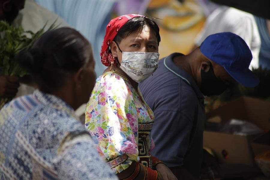 Panamá es el país de Centroamérica con mayor cantida de casos positivos por COVID-19. (Foto: EFE)