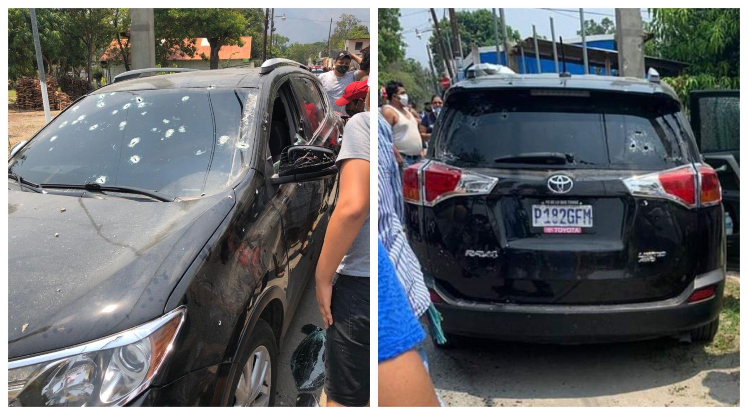 El alcalde de Teculután, César Paz Castañeda, murió asesinado junto a sus guardaespaldas en un ataque armado. (Foto: Twitter)