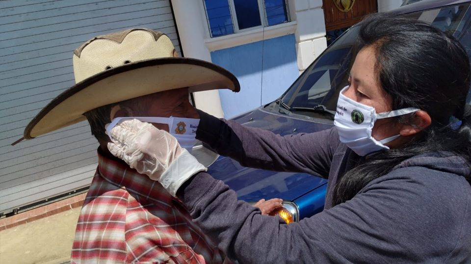 Cordón sanitario en Totonicapán