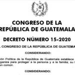 Decreto 15-2020