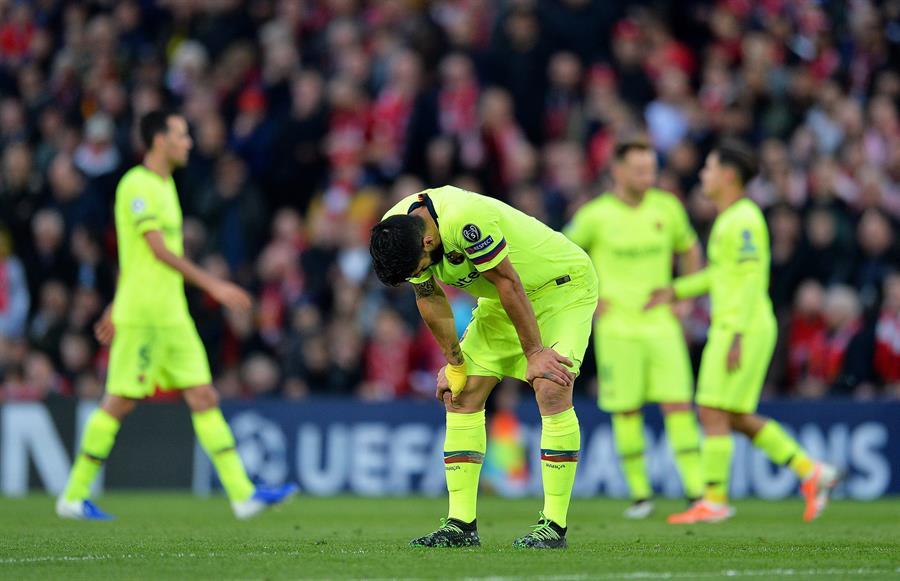 El Liverpool remontó el 3-0 de la ida en el Camp Nou contra el FC Barcelona en Anfield, con un gol a 12 minutos del final. (Foto: EFE)