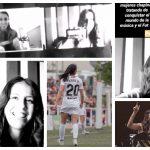 Ana Lucía Martínez y Fabiola Roudha entablaron una plática en la que la futbolista cantó tocando su Ukelele ante la mirada de la intérprete y compositora nacional. (Foto: Twitter e Instagram)