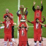 El Salzburgo celebró un nuevo título de Copa al derrotar 5-0 al Austria Lustenau de la Segunda División. (Foto: EFE)