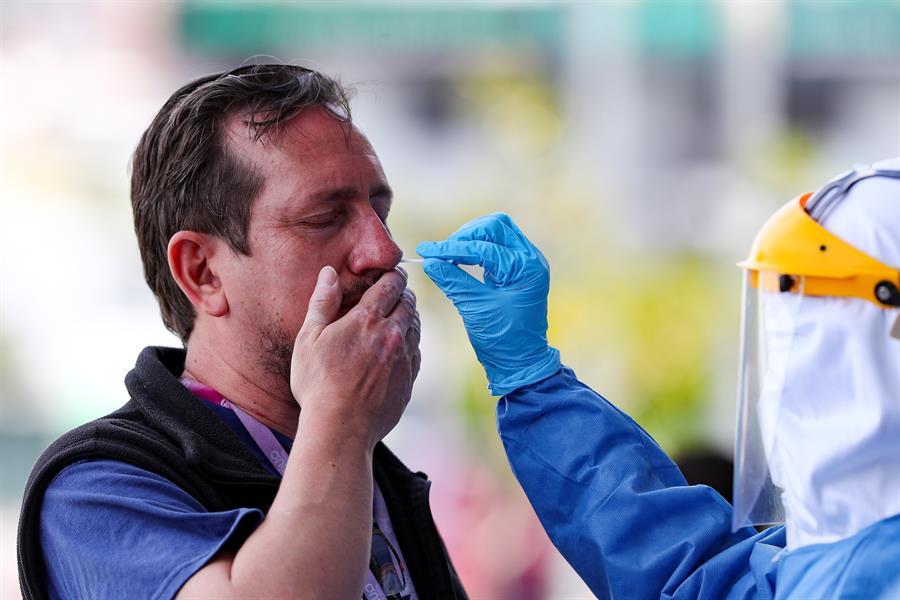 La OMS anunció que el mundo alcanzó más de 5 millones de casos de COVID-19 de los que han muerto 333 mil. (Foto: EFE)