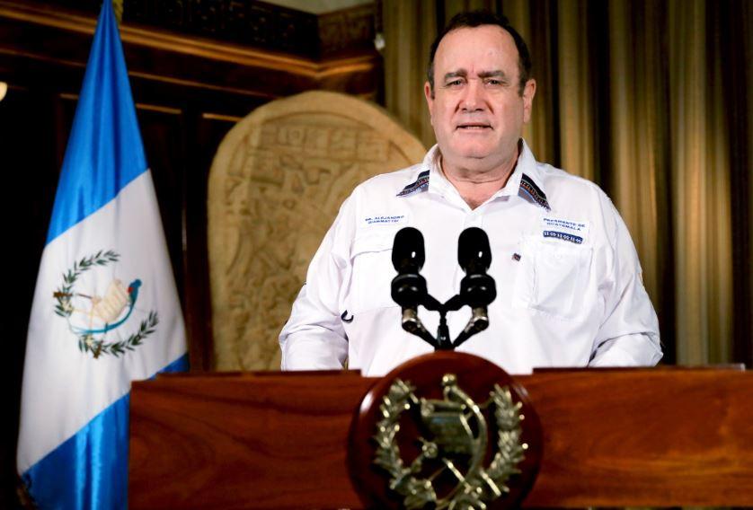 El presidente Alejandro Giammattei dará a conocer este domingo una nueva actualización de datos del COVID-19, así como las nuevas medidas en el país para la próxima semana. (Foto: SCSP)
