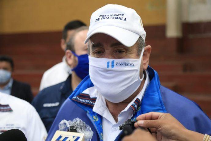 El presidente Alejandro Giammattei anunciará los nuevos protocolos sanitarios para la primera fase de reapertura del país. (Foto: AGN)