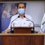 El Ministro de Salud, Hugo Monroy aseguró que no se realizarán pruebas masivas de COVID-19. (Foto: Gobierno de Guatemala)