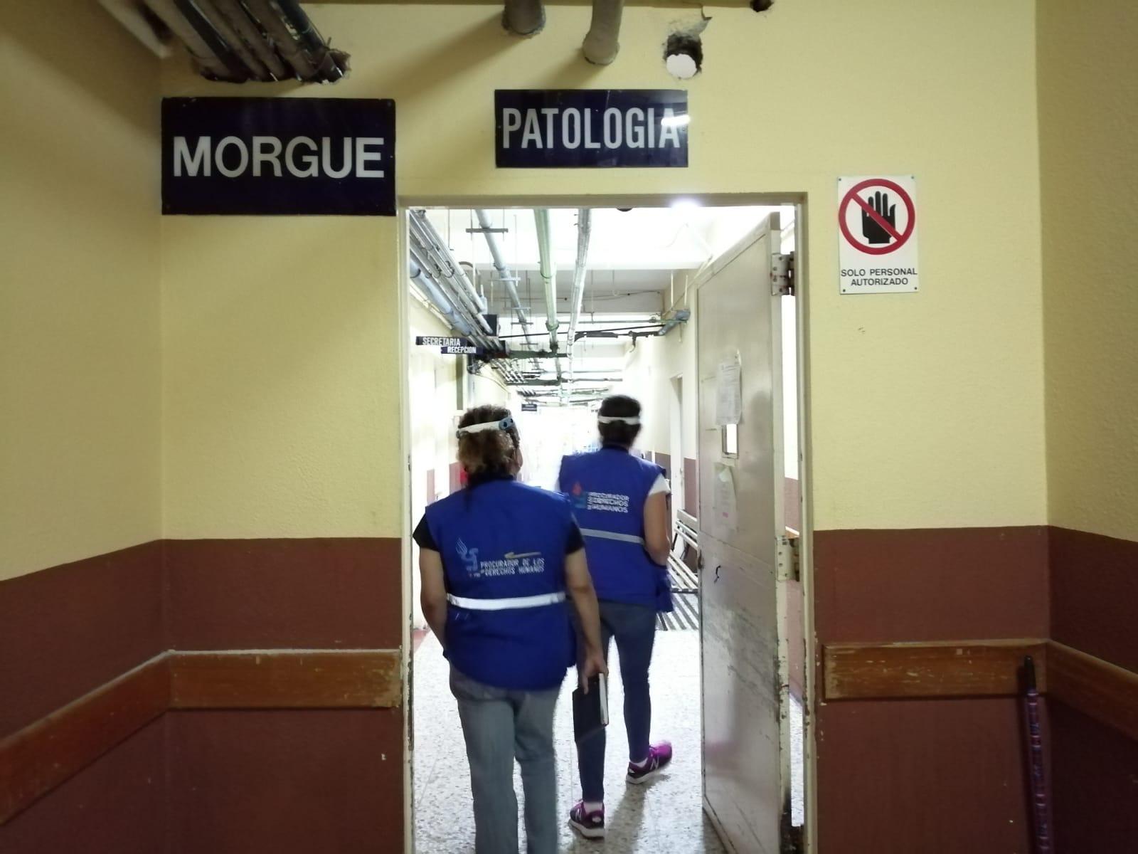 Morgue Hospital Roosevelt