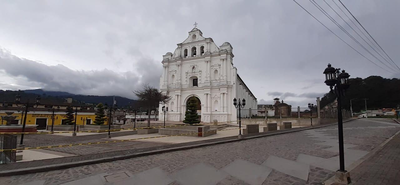 San Cristóbal Totonicapán confirmó tres casos de COVID-19 entre sus comunidades. El departamento suma 57 en total. (Foto: Carlos Ventura)