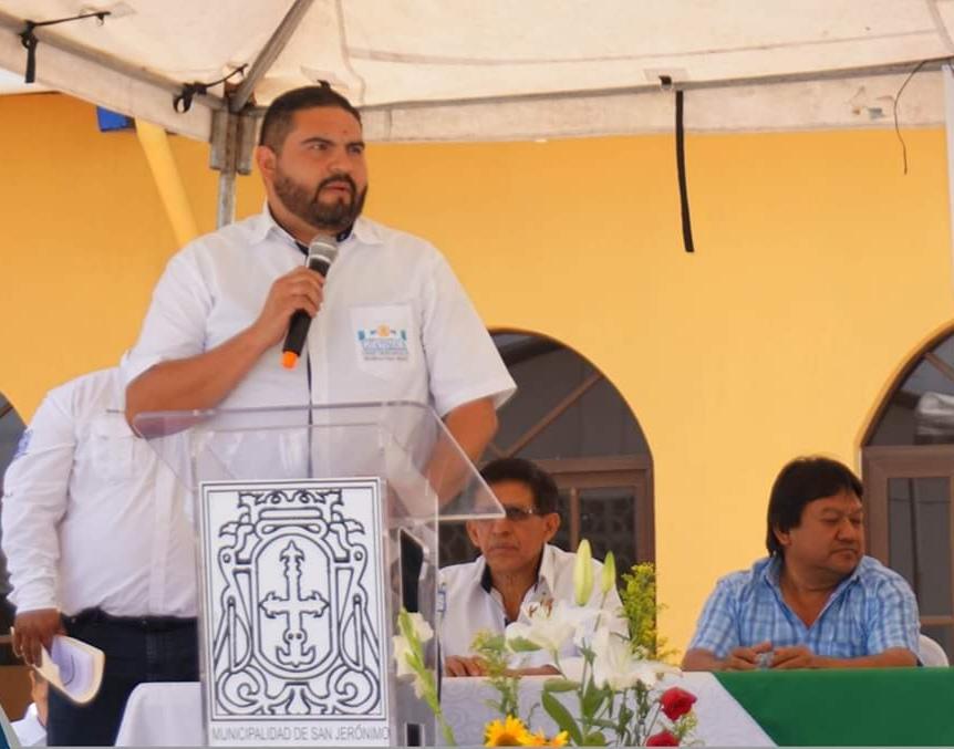 Érick Herrera es el actual gobernador departamental de Baja Verapaz. (Foto: Eduardo Sam))
