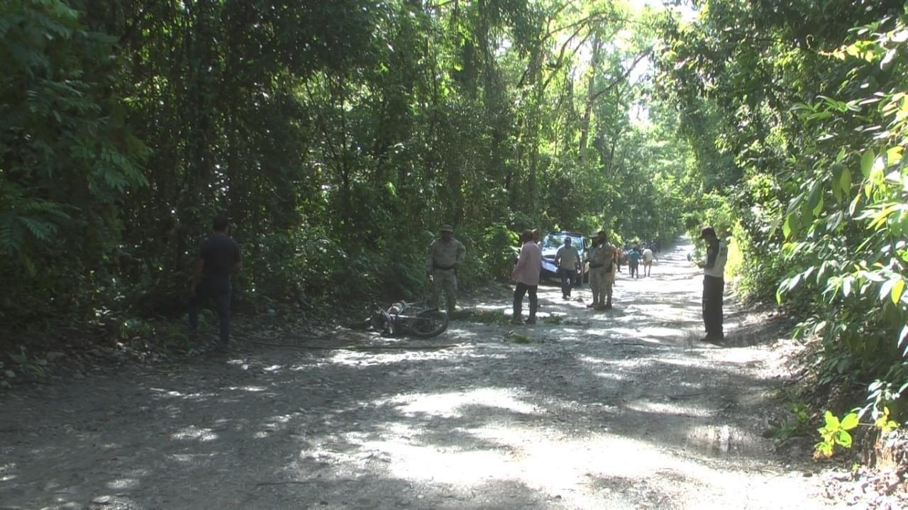 El guardarecursos del Parque Nacional Lacuna de Lachuá, Alberto Cucul Choc, murió asesinado este lunes. (Foto: Eduardo Sam )
