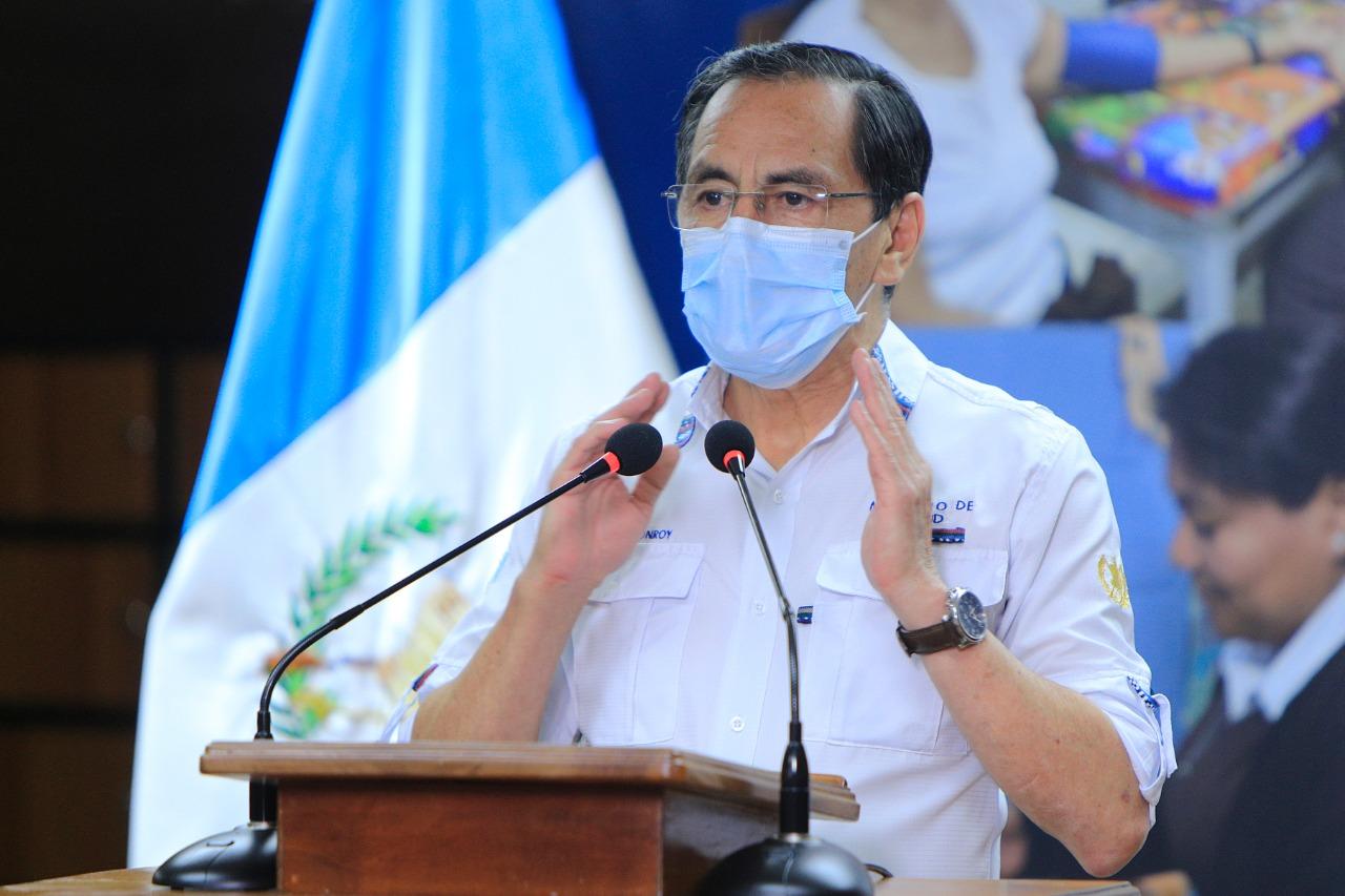 Guatemala superó los 10 mil casos de COVID-19, según el último informe del Ministro de Salud, Hugo Monroy. (Foto: SCSP)