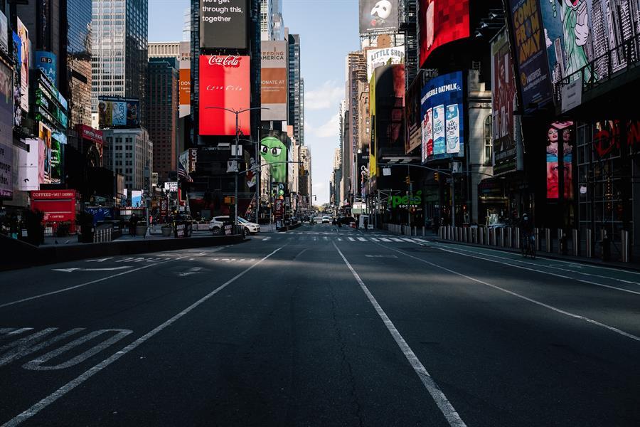 Nueva York reabrirá su economía este lunes que entrará en la fase 1, luego de la crisis de la pandemia del COVID-19. (Foto: EFE)