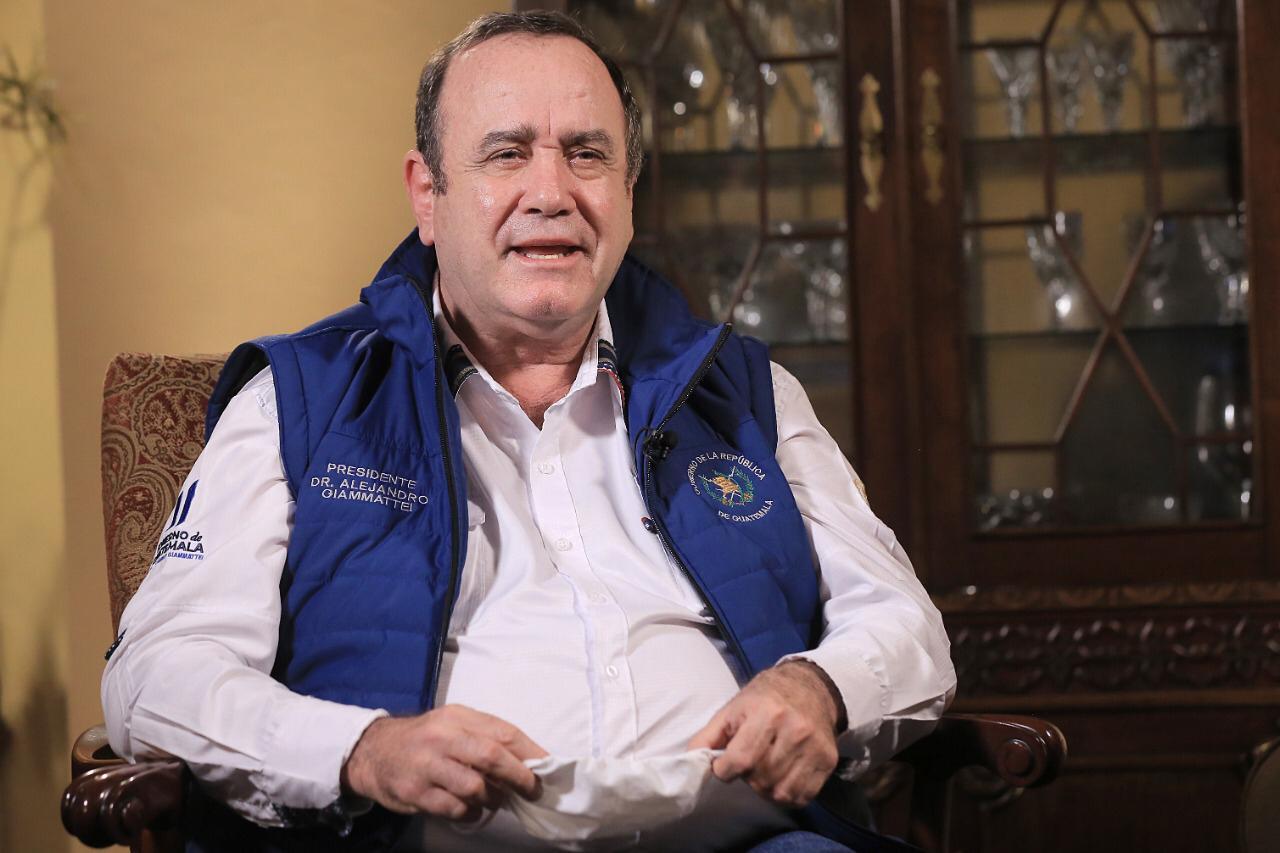 Presidente Giammattei