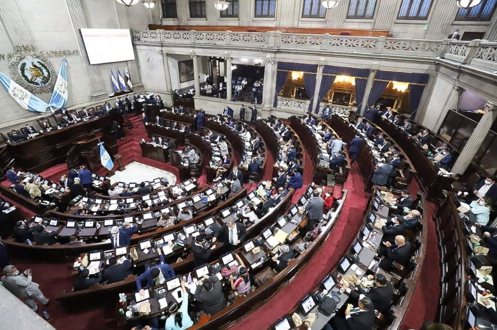 El Congreso aprobó un préstamo de Q150 millones para apoyar a los pensionados del Estado afectados por la crisis del COVID-19. (Foto: Congreso de la República)