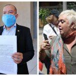 El diputado Aldo Dávila, de la bancada Winaq, presentó una denuncia contra la ciudadana cubana Bárbara Hernández. (Foto: Twitter)
