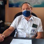 Mario Rivera, director del Área de Salud de Suchitepéquez, dijo que presentarán una denuncia por el caso de enterrar a una persona que murió por COVID-19 en un basurero. (Foto: Cristian Soto)