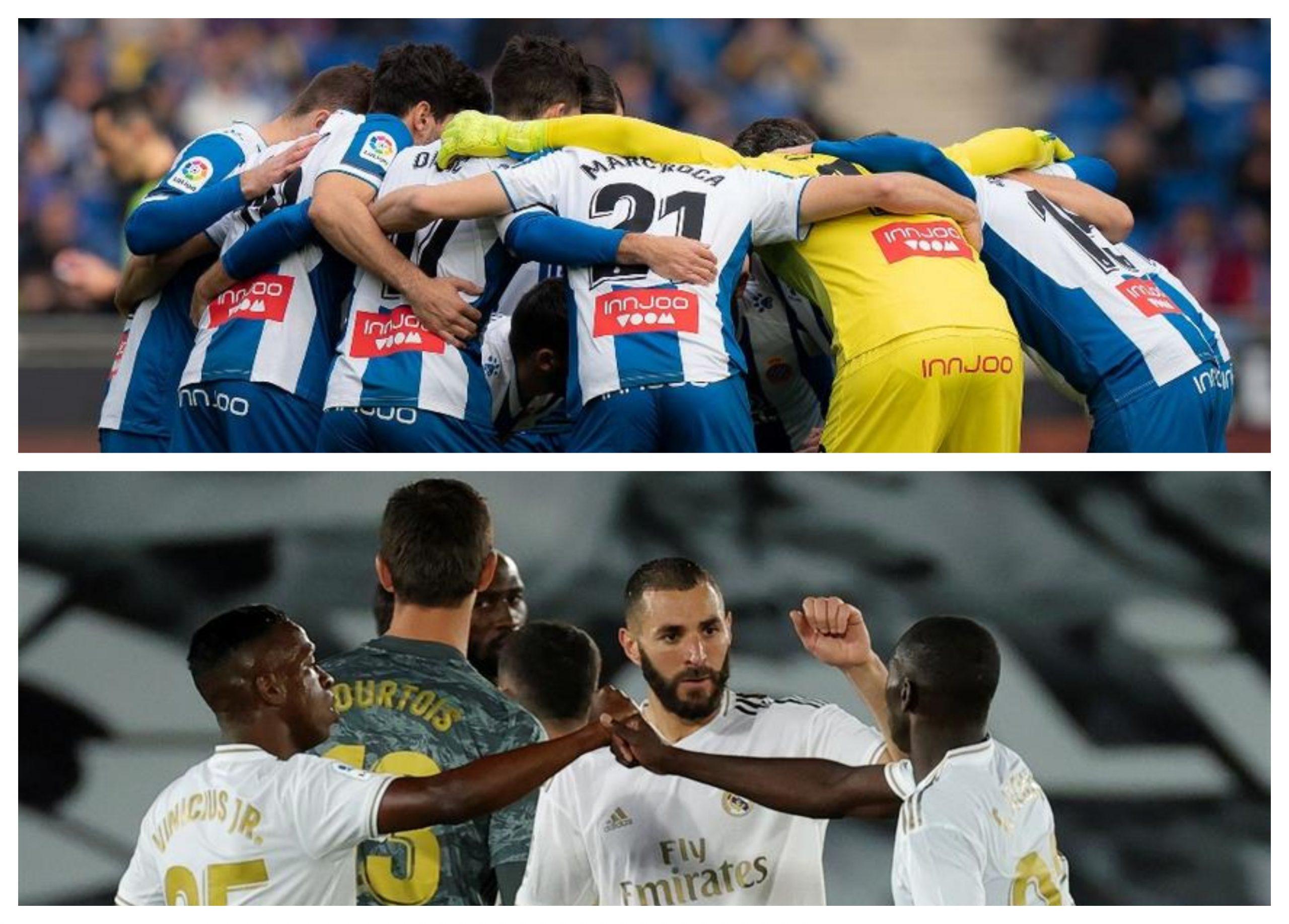 El Espanyol recibe en su casa el Real Madrid en uno de los partidos que cierra la jornada 32 de la Liga Española. (Foto: Twitter)