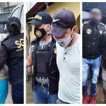 Los extorsionistas fueron capturados en allanamientos realizados en Retalhuleu y Quetzaltenango. (Foto: PNC)