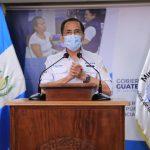 El Ministro de Salud informó durante el mensaje que se detectaron 509 nuevos casos de COVID-19 en Guatemala. (Foto: SCSP)
