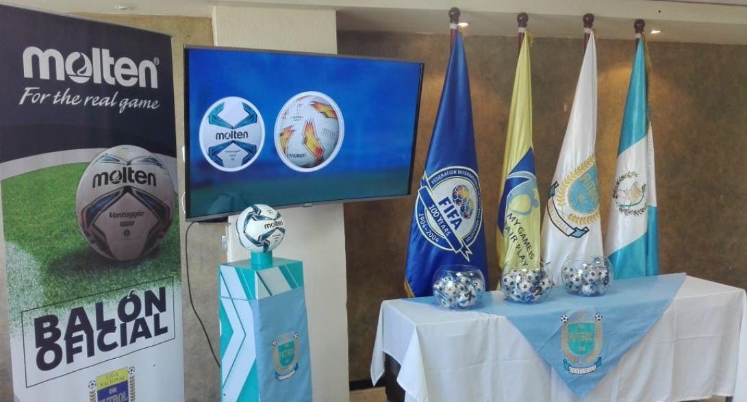 La asamblea de los equipos de la Liga Nacional se llevó a cabo de forma virtual, y el sorteo que tuvo lugar en la sede de la zona 15, en el edificio de la Federación de Fútbol. (Foto: Liga Nacional)