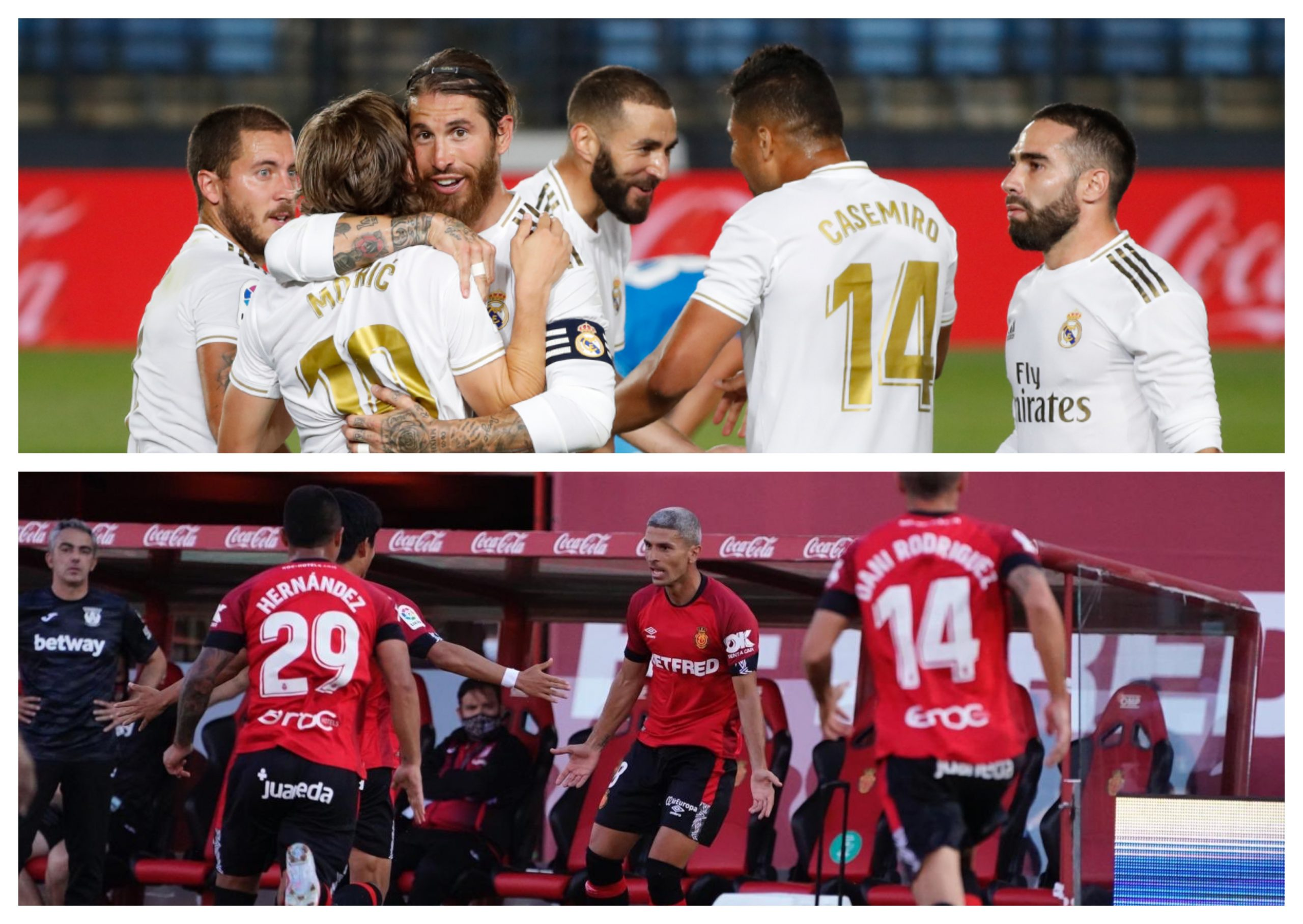 El Real Madrid recibe al Mallorca en un partido de la fecha 31 de la Liga Española, en el Estadio Alfredo Di Stéfano. (Foto: Twitter)