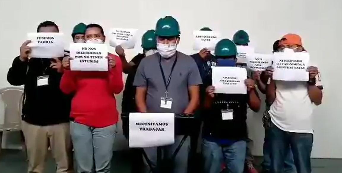 Trabajadores de mantenimiento