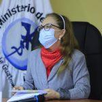 Viceministra Elizabeth Quiroa