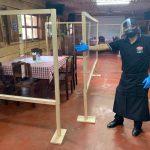 En el restaurante El Refugio Casa y Campo en Cobán, Alta Verapaz, los dueños han adecuado las instalaciones con las medidas de seguridad sanitarias contra el COVID-19. (Foto: Eduardo Sam)