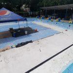 La Municipalidad gastará más de Q88 mil en la restauración de la piscina olímpica de Mazatenango. (Foto: Cristian Soto)
