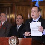 El presidente Alejandro Giammattei destituyó al Ministro de Trabajo Rafael Lobos Madrid. (Foto: Archivo)