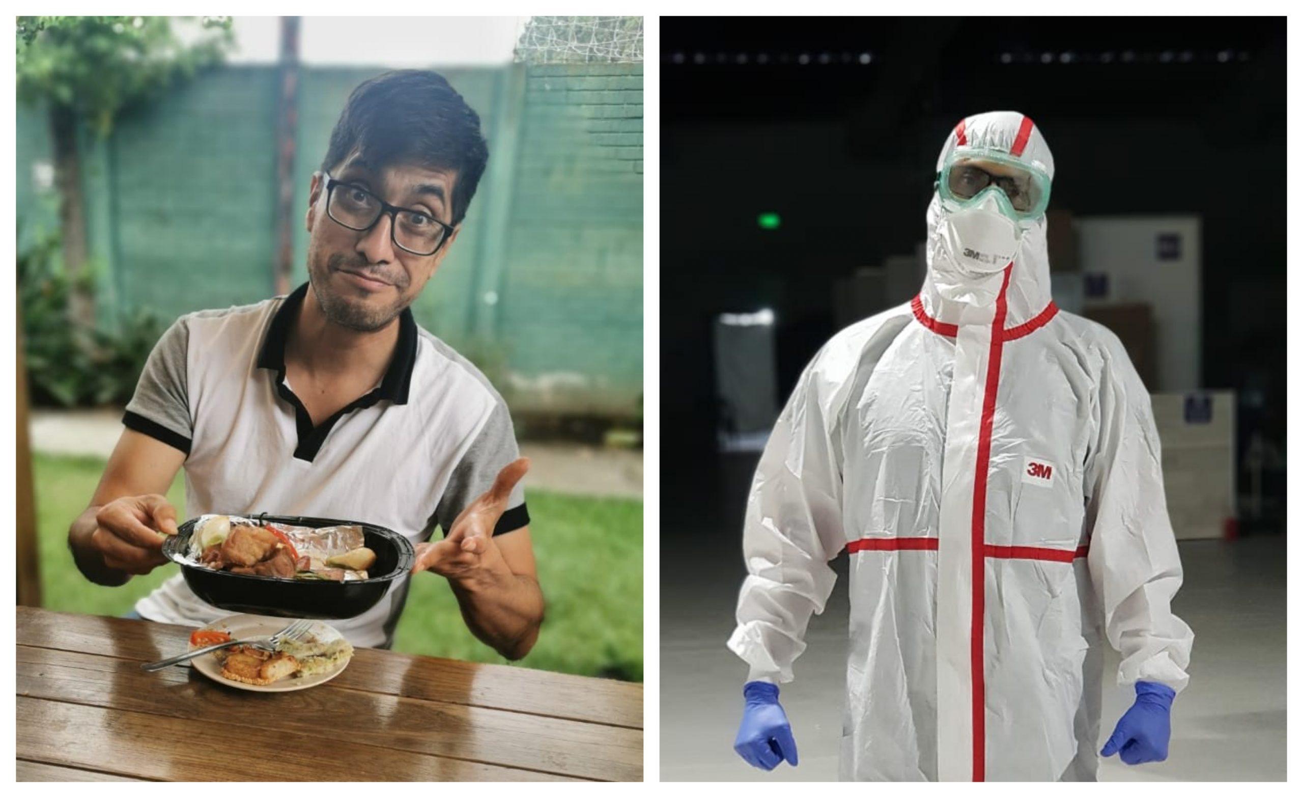El doctor Oscar Guillermo Hernández falleció a causa del COVID-19 en el Hospital del Parque de la Industria. El médico de 45 años, luchó durante varios meses por pacientes contra la enfermedad que hoy le quitó la vida. (Foto: Twitter)