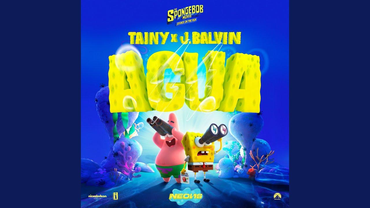 "J Balvin y Tainy harán música para película ""Bob Esponja"""