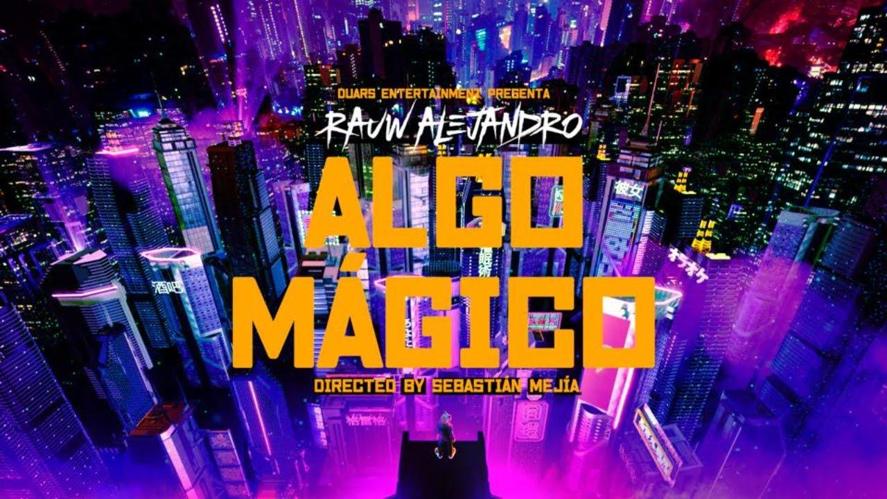 """Rauw Alejandro presenta nuevo sencillo """"Algo Mágico"""""""