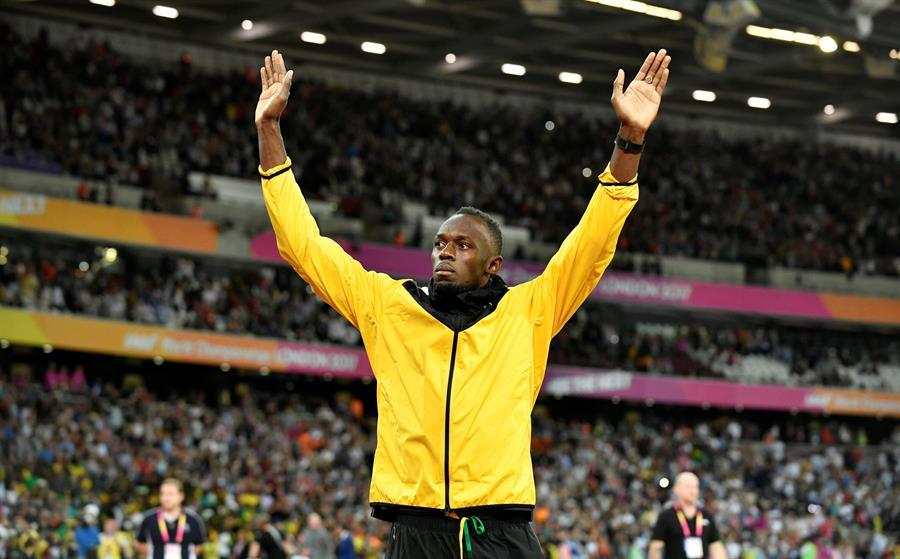 El velocista jamaiquino Usain Bolt se encuentraen su casa bajo observación, luego de dar positivo por COVID-19. (Foto: EFE)