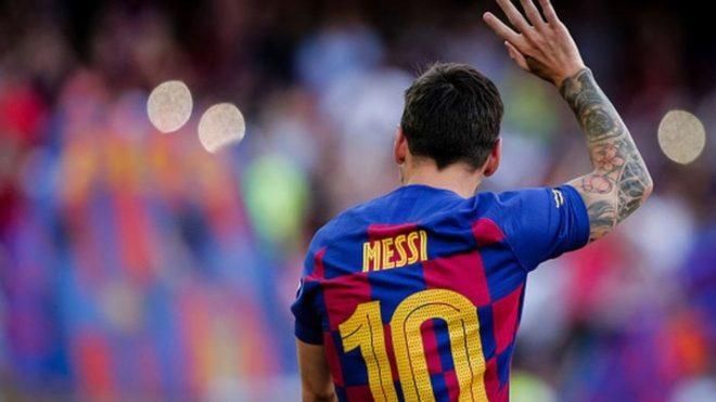 El argentino Lionel Messi se irá del Barcelona después de 16 temporadas en las que disputó 731 partidos y marcó 633 goles. (Foto: Marca)