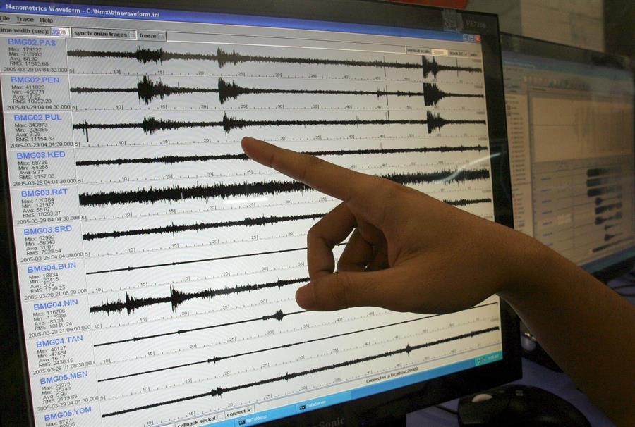 El sismo se registró a las 04.01 hora local a una profundidad de 29 kilómetros, según confirmó el Instituto Nacional de Sismología, Vulcanología, Meteorología e Hidrología (Insivumeh).