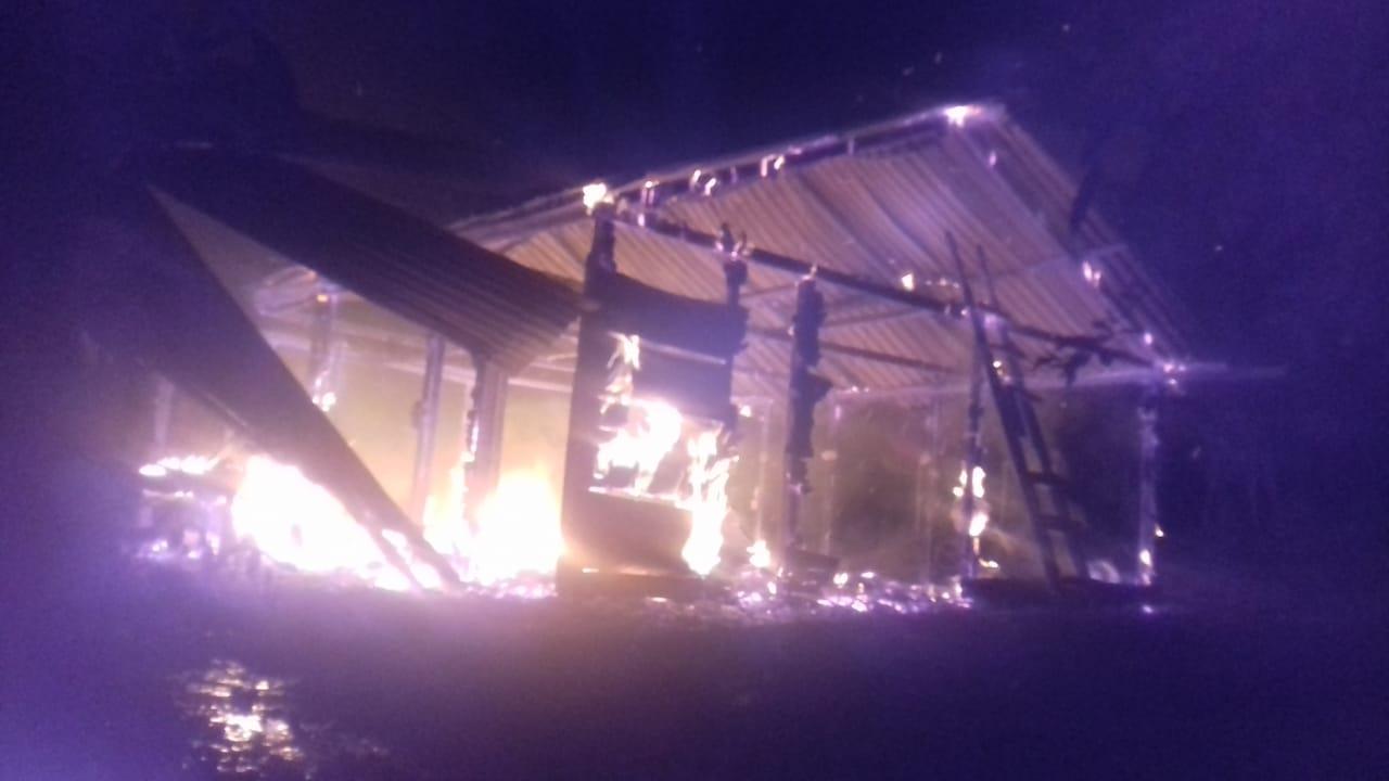 desalojo extrajudicial de 40 familias en Alta Verapaz