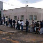 El grupo de los 127 guatemaltecos arribó el miércoles por la tarde deportados de Estados Unidos. A todos se les practicó la prueba de coronavirus y salió negativa. (Foto: IGM)