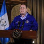 El presidente Alejandro Giammattei solicitará que se brinde una nueva ampliación al estado de calamidad por la emergencia del COVID-19 en el país. (Foto: Archivo)