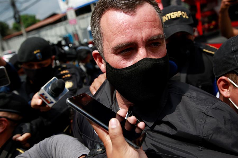 El exministro Alejandro Sinibaldi declaró a puerta cerrada ante el Juez Miguel Ángel Gálvez. (Foto: EFE)