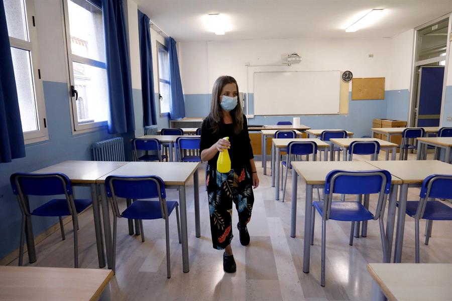 Italia reporto un repunte de casos de COVID-19 en los últimos días. En total el país suma 277 mil 634. (Foto: EFE)
