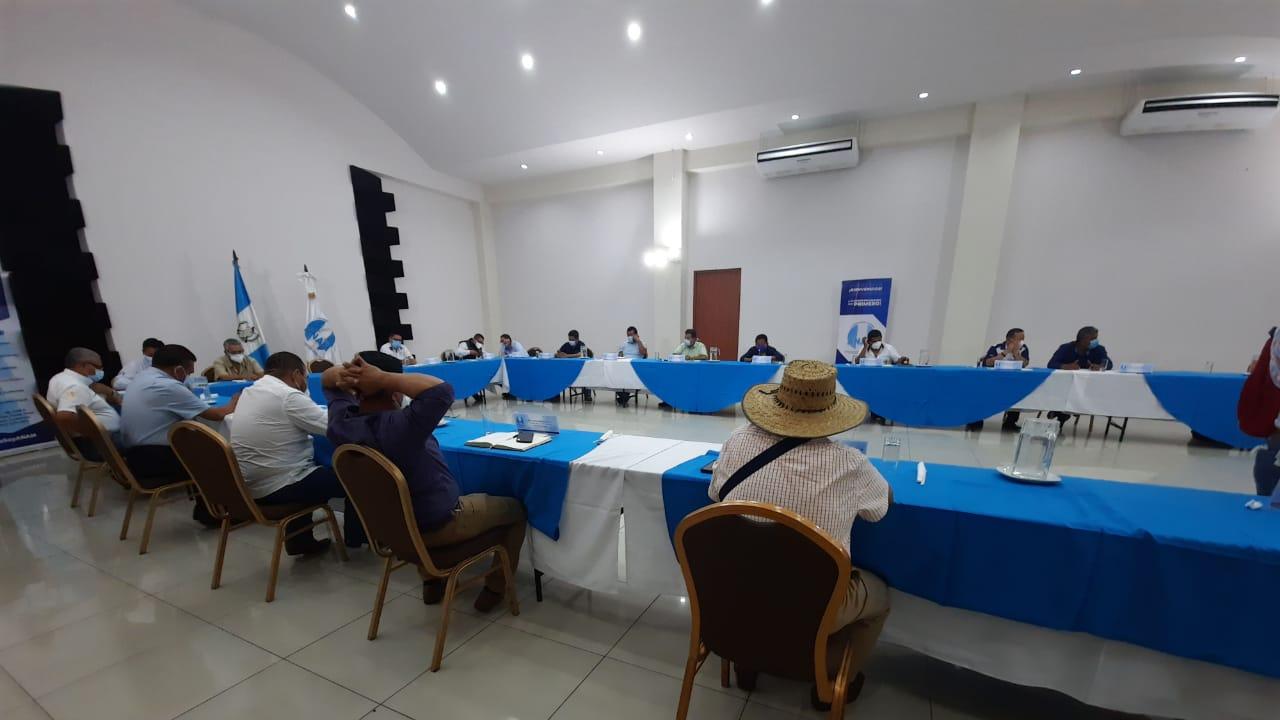 Alcaldes asistieron a reunión de Anam en Suchitepéquez
