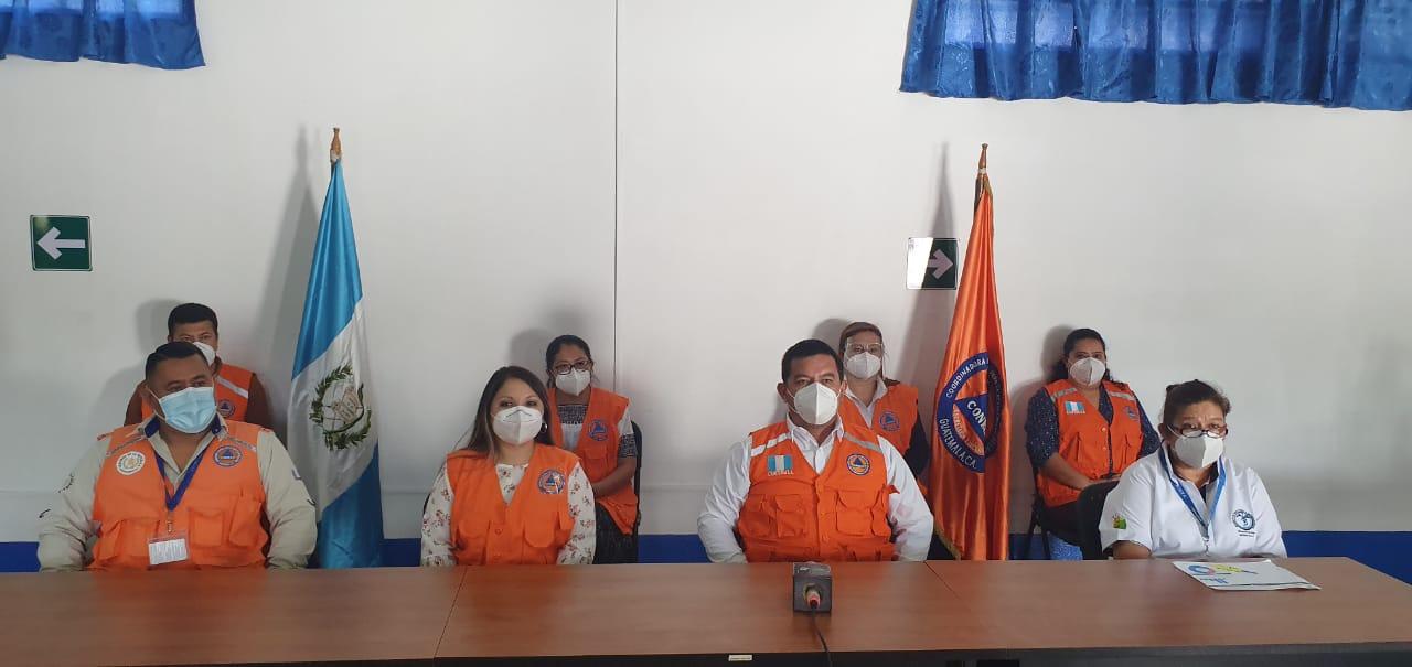 Las autoridades de salud de Alta Verapaz, dieron a conocer una actualización sobre el comportamiento del COVID-19 en el departamento. (Foto: Eduardo Sam)