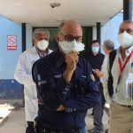 El Director Ejecutivo de Coprecovid realiza visita de campo al Hospital Regional de Cobán. (Foto: Cortesía)