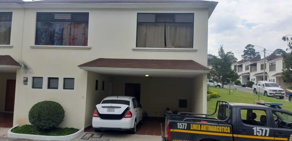 El Smiley fue detenido en su casa en un exclusivo residencial en la zona 8 de Mixco, en el departamento de Guatemala. (Foto: PNC)