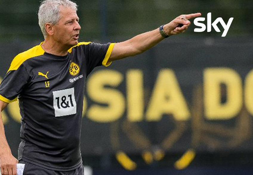 Lucien Favre, tecnico del Borussia Dortmund, debutará en casa contra el Borussia Mönchengladbach. (Foto: BVB)